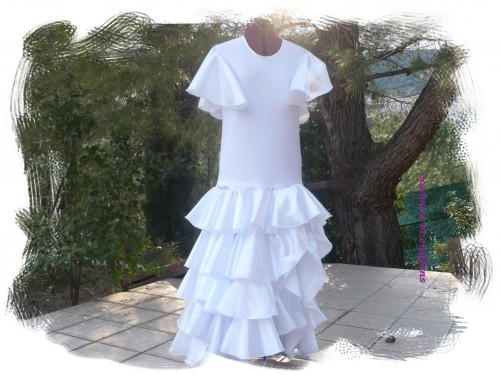 robe flamenco blanche.JPG